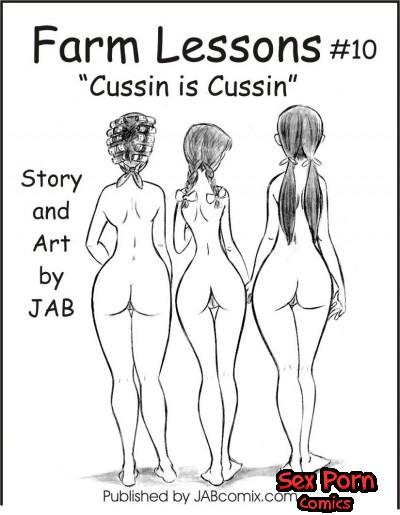 Farm Lessons Jab Comics XXX Issue 10 Cussin is Cussin