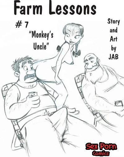Farm Lessons Jab Comics XXX Issue 7 Monkeys Uncle