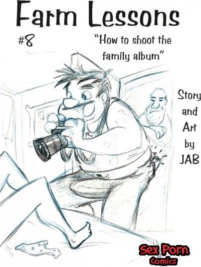 Farm Lessons Jab Comics XXX Issue 8 Family Album