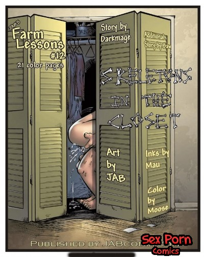 Farm Lessons Incest Jab Comics Issue 12 Skeletons In The Closet