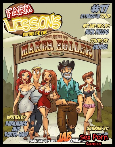 Farm Lessons Jab Comix Issue 17 Buying The Car