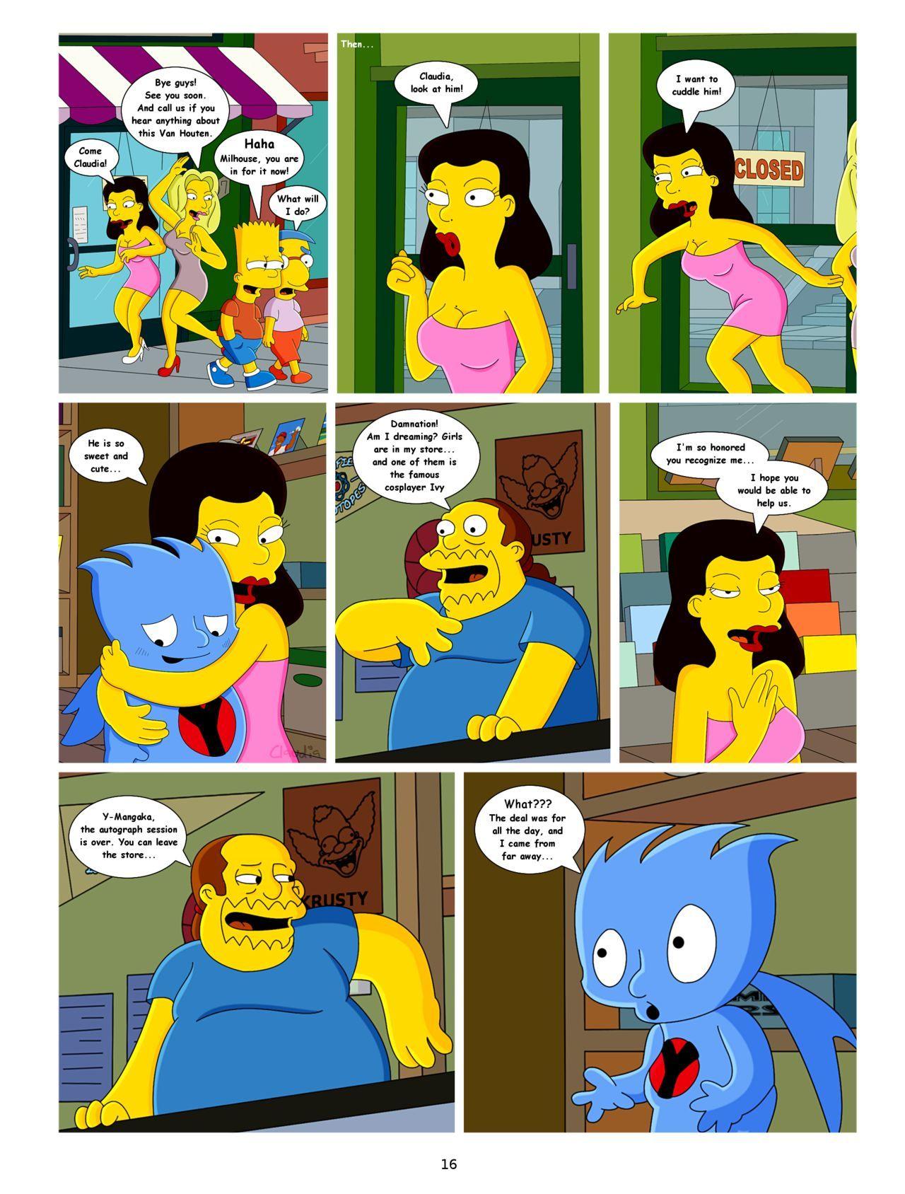 de Simpson Comic Porn