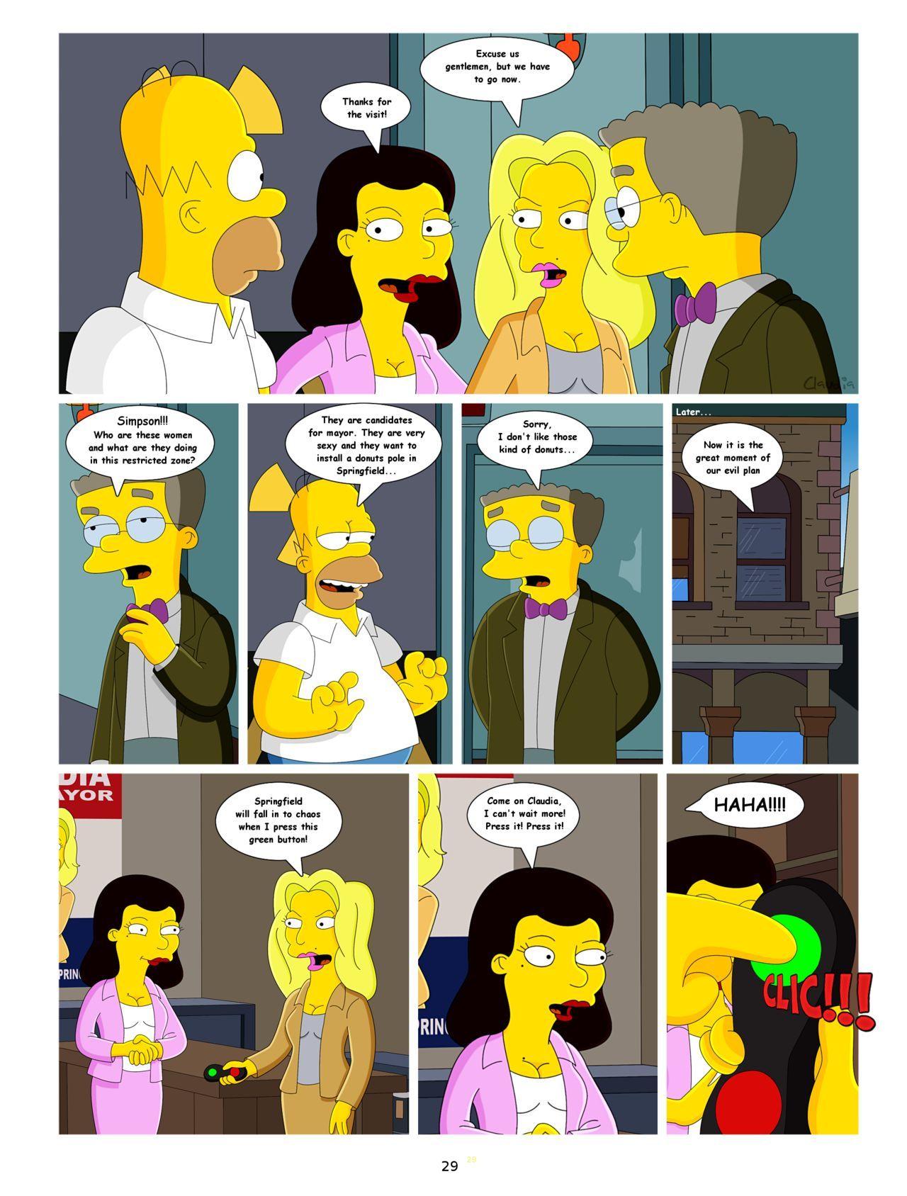 Die Simpsons Cartoon Sex