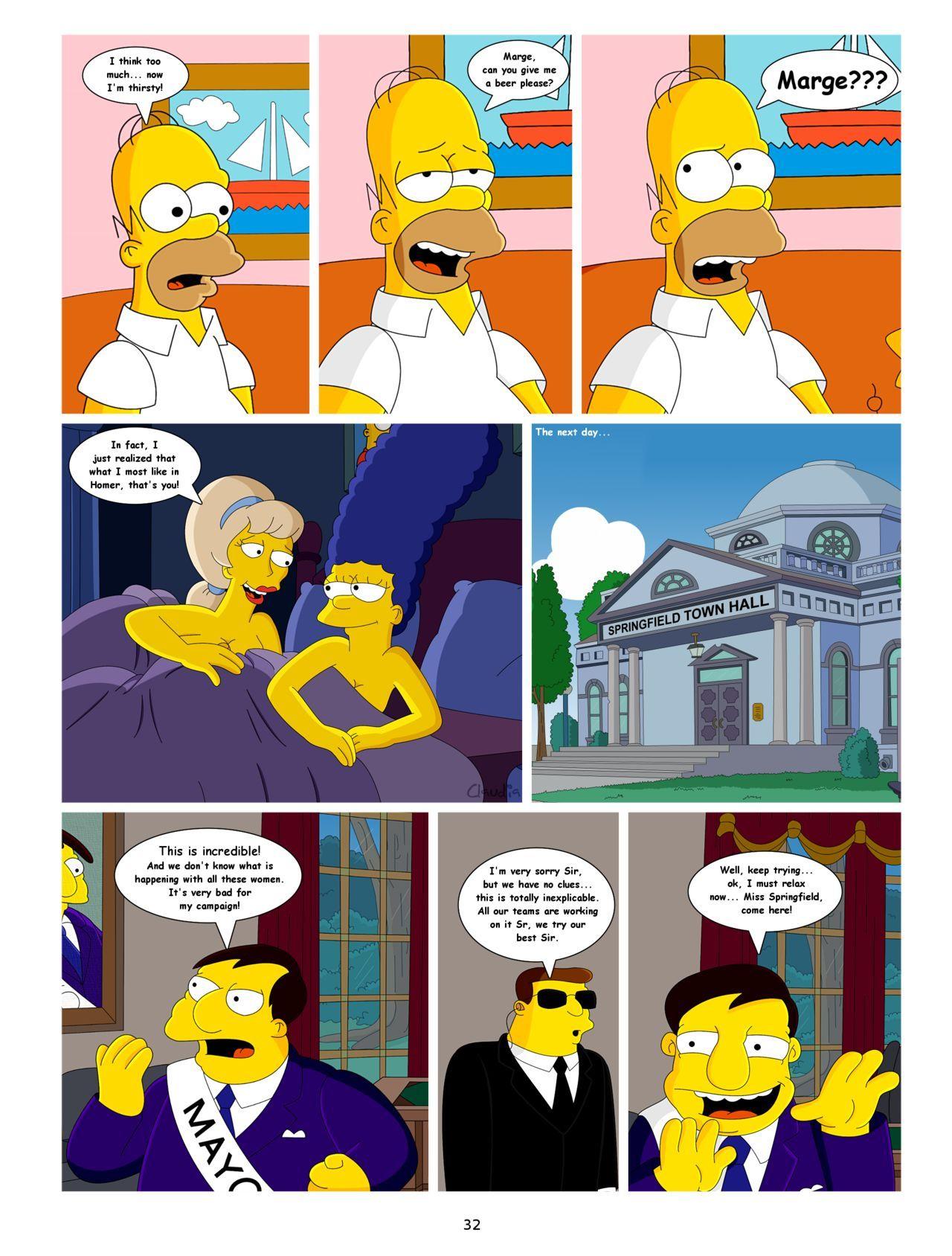 Τα κόμικς πορνό Σίμπσον