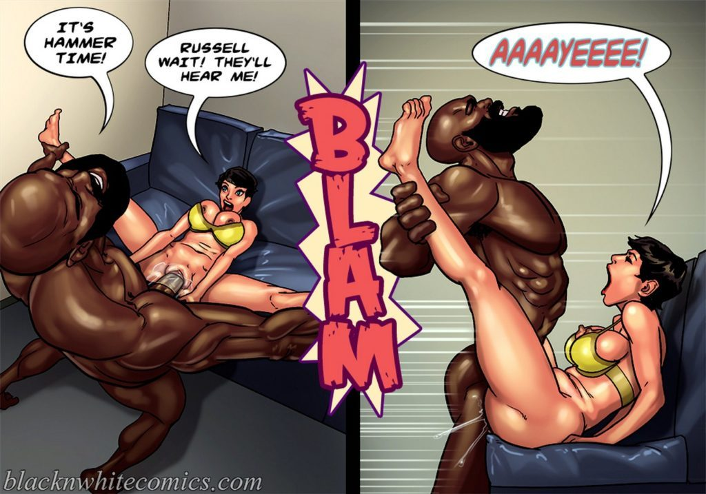 Interacial Porn Comic