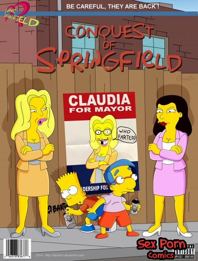 The Simpsons Sex Comixs - Conquest of Springfield 2